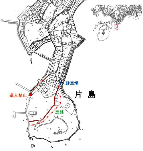 魚雷発射試験場跡MAP